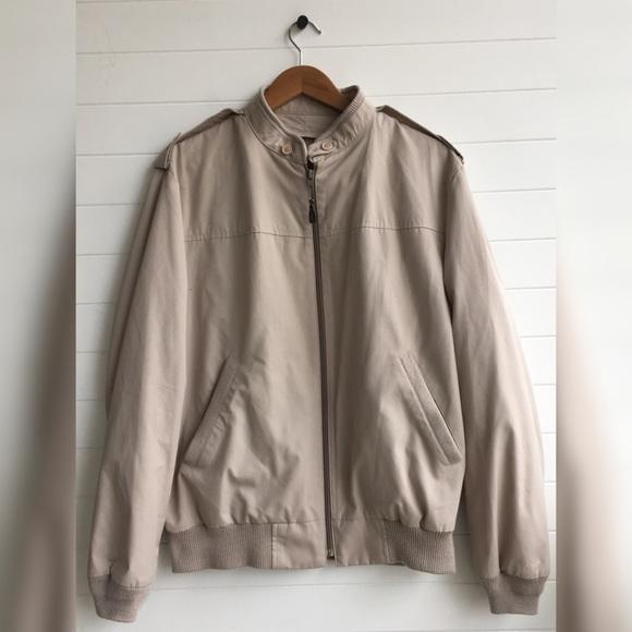 London Fog Jackets Amp Coats Vintage 80s Bomber Jacket